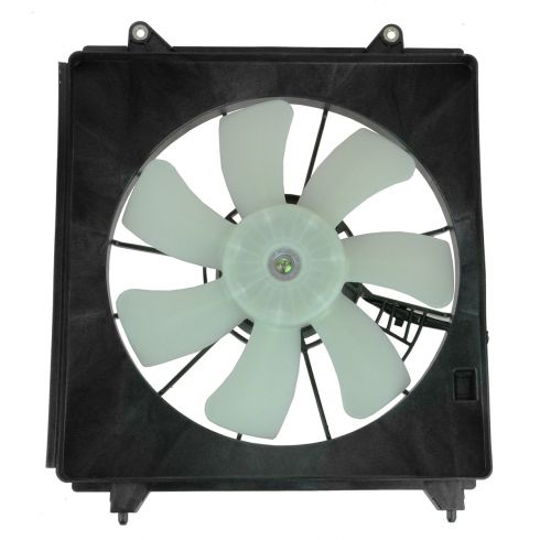 13 Honda Accord w/3.5L AC Condenser Cooling Fan Assy RH