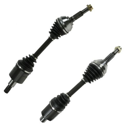 97-05 GM Mid Size PU SUV w/ZR2 Pkg Front Axle Shaft PAIR (66-1277 & 66-1278)