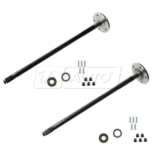 97-04 Ford F150 (w/9.75 RG & V916, 918 Tag) Rear Axle Shaft PAIR