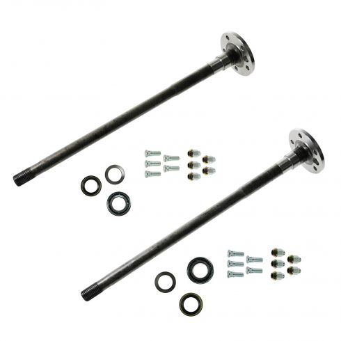 87-06 Cherokee, Comanche, Wagoneer, Wrangler (w/Dana 44 Rear End) Chromoly Rear Axle Shaft PAIR