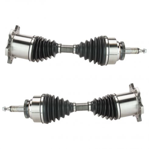 03-06 Expedition, Navigator; 04 F150 NB; 05-08 F150; 06-08 Linc LT Front Outer CV Axle Shaft PAIR