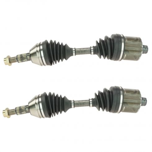 97-10 Chevy, 97-04 Olds; 99-10 Pontiac; 07-09 Saturn Multifit w/AT Front Outer CV Axle Shaft PAIR
