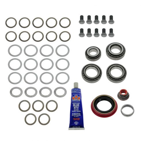 83-09 Ford, Lincoln; 87-06 Merc (w/3:55 ratio & 8.8 RG) Rear Axle Ring & Pinion Bearing Install Kit