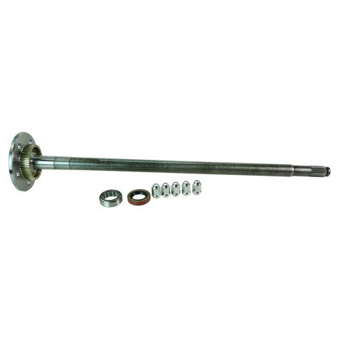 01-02 Crown Vic, Gr Marquis, Towncar Rear Axle Shaft & Brng Kit w/Pot Mtl ABS To