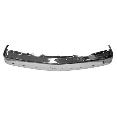 Front Bumper Chrome for Models with Impact Strip Provision (without Guards)