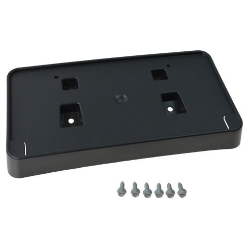 14-15 Jeep Cherokee Front Bumper Mounted License Plate Bracket Holder w/Mounting Hardware (Mopar)