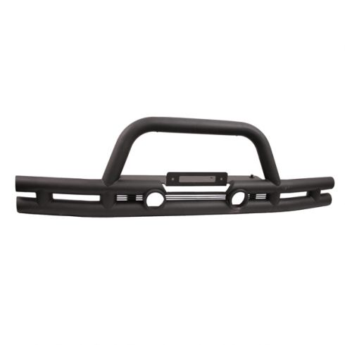 3-Inch Double Tube Front Winch Bumper, 07-14 Jeep Wrangler