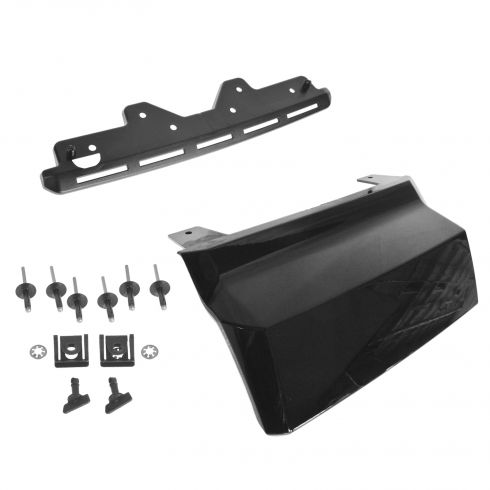 15-16 Subrban, Tahoe, Yukon, XL Rear Bmpr Mtd Black (RPO 41U) Trailer Hitch Cover w/Install Kit (GM)