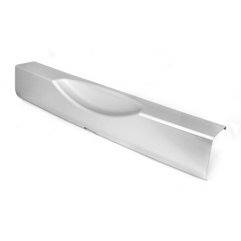 Rear Bumper Applique, Silver, 07-14 Jeep Wrangler