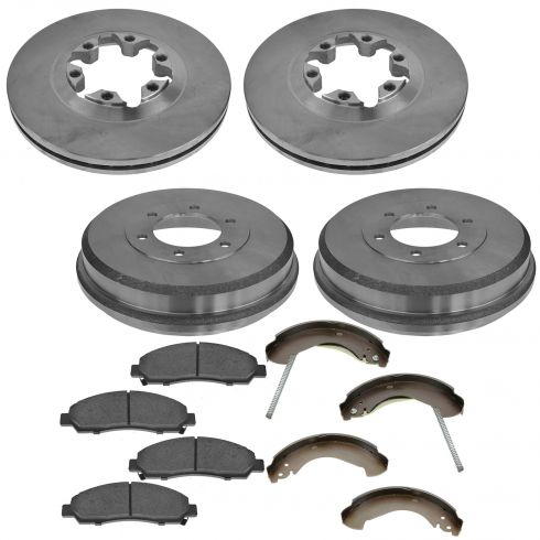 2004-08 Canyon, Colorado; 2006 Isuzu I-280, I-350; 2007-08 I-290, I-370 Complete Brake Kit