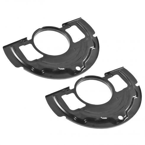 02-06 Nissan Altima; 04-08 Maxima Front Disc Brake Backing Plate/ Dust Shield PAIR (Nissan)
