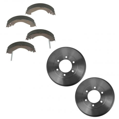 2004-08 Canyon, Colorado; 2006 Isuzu I-280, I-350; 2007-08 I-290, I-370 Brake Drum & Shoe Set