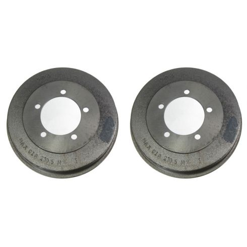 Rear Brake Drum PAIR (AUTO EXTRA AX35016)