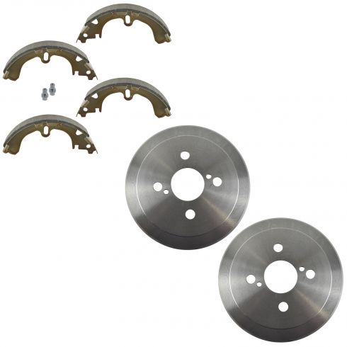 Rear Brake Drum & Shoe Set (AUTO EXTRA AX3578 & AXS597)