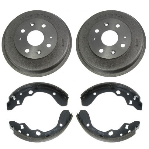 Rear Brake Drum & Shoe Set (AUTO EXTRA AX80006 & AXS678)