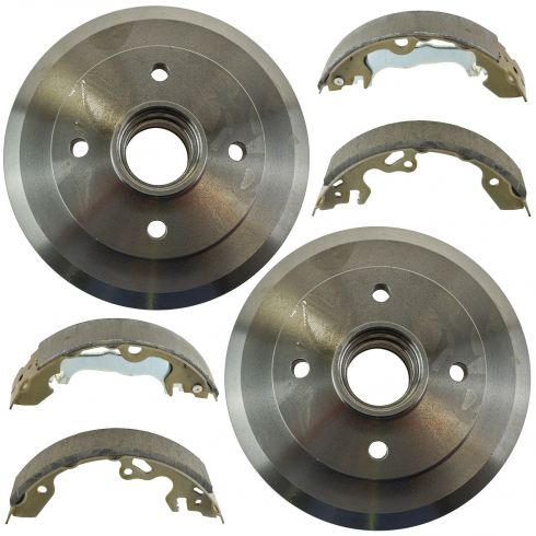 Rear Brake Drum & Shoe Set (AUTO EXTRA AX80090 & AXS747)
