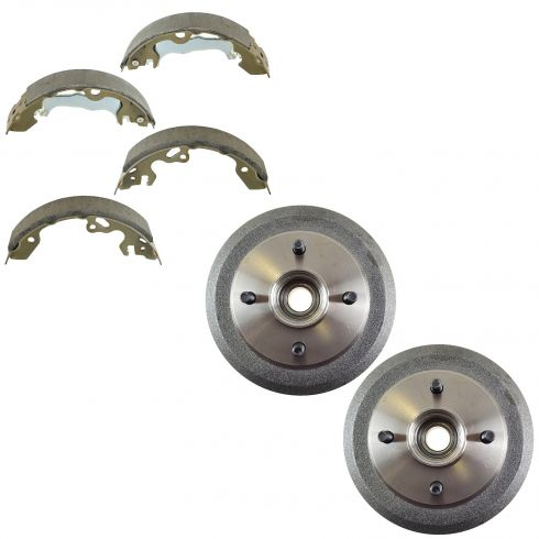 Rear Brake Drum & Shoe SET (AUTO EXTRA AX920132 & AXS747)