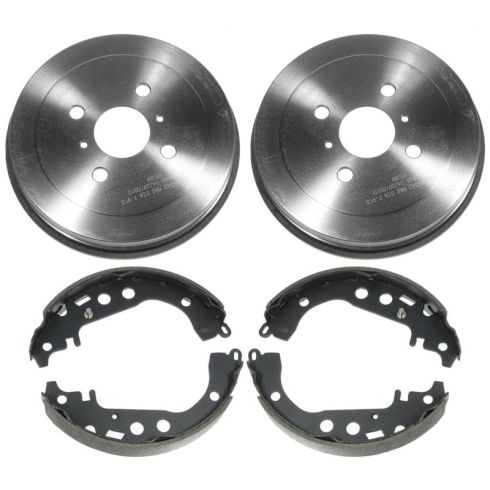 Rear Brake Drum & Shoe Set (AUTO EXTRA AX80094 & AXS753)