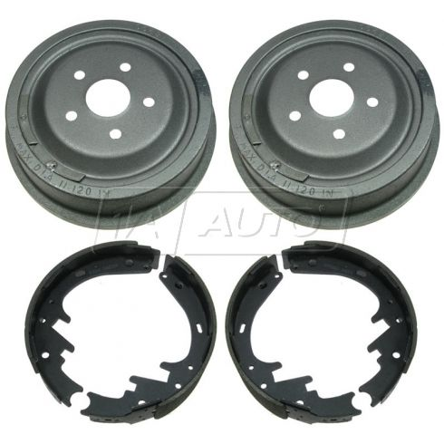 Rear Brake Drum & Shoe Set (AUTO EXTRA AX8200 & AXS263)