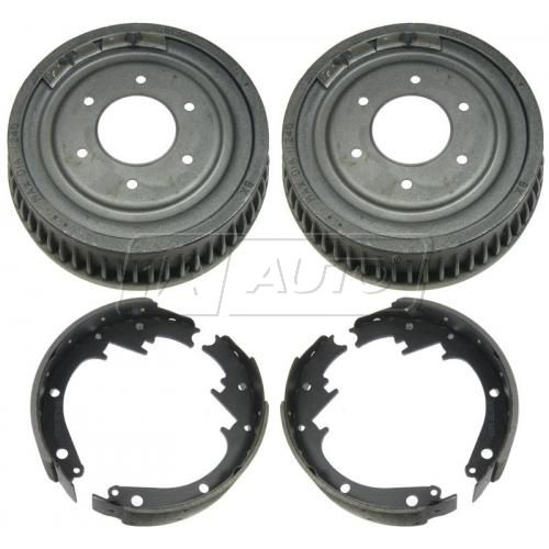 Rear Brake Drum & Shoe Set (AUTO EXTRA AX8846 & AXS473)