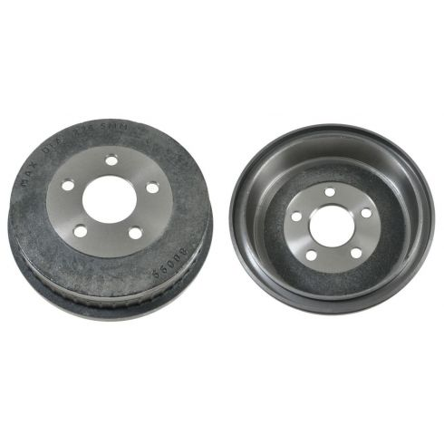 01-05 Mercury Sable; 01-07 Ford Taurus Rear Brake Drum PAIR