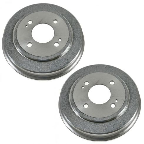 97-00 Acura EL; 86-89 Honda Accord; 92-00 Honda Civic; 07-08 Fit Rear Brake Drum PAIR