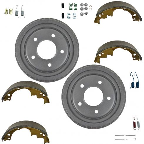 Brake Shoe, Drums & Hardware Kit