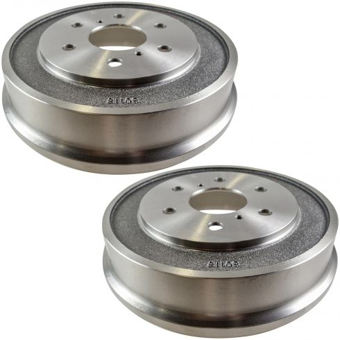 05-08 Chevy Silverado 1500, GMC Sierra 1500 6 Lug Rear Brake Drum PAIR