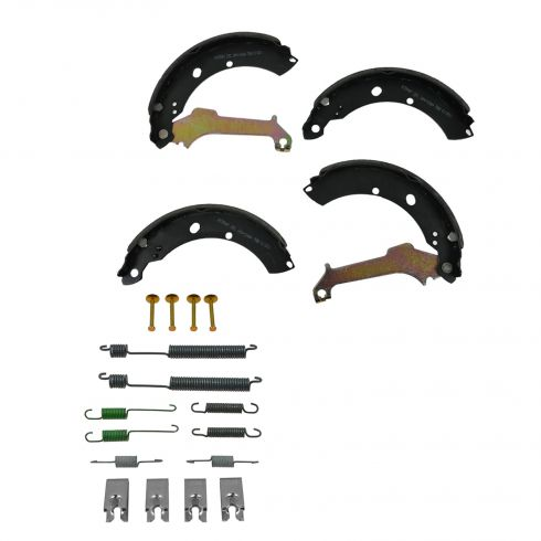 Brake Shoes with Hardware Kit