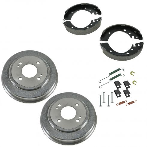 Brake Shoe, Drum & Hardware Kit