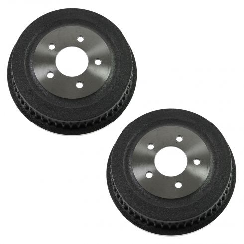 01-07 Chrysler, Dodge, Plymouth Min Van Rear Brake Drum PAIR