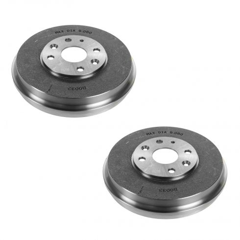 97-03 Ford Escort; 98-03 ZX2; 97-99 Mercury Tracer Rear Brake Drum PAIR
