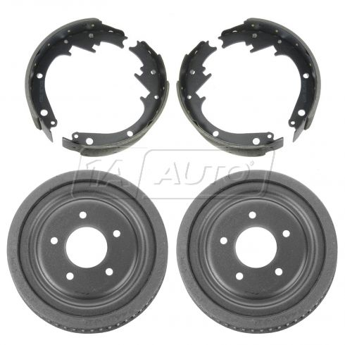 90-95 GM G10, G1500, G20, G2500 Van; 90-91 Suburban 1500 w/2WD Rear Brake Drum & Shoe Kit