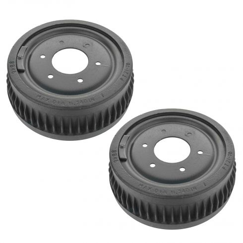 73-91 K5 Blazer, Jimmy, Suburban 10, 1500; 73-87 PU 10, 1500 w/4WD Rear Brake Drum PAIR