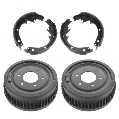73-91 K5 Blazer, Jimmy, Suburban 10, 1500; 73-87 PU 10, 1500 w/4WD Rear Brake Drum & Shoe Kit