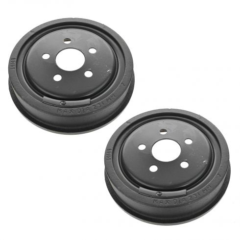03-05 Chevy Cavalier, Pontiac Sunfire Rear Brake Drum PAIR