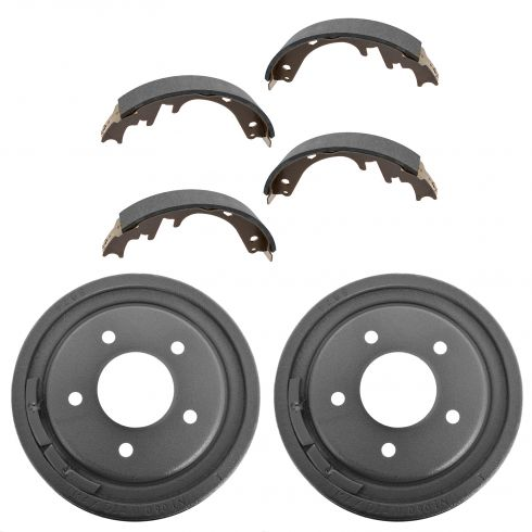 87-96 Bronco; 87-96 F150 (exc 93-95 Lightning) 87-89 E150 Rear Brake Shoe & Drum Kit
