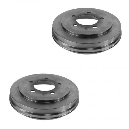 08-09 Avenger; 07-12 Caliper; 08-14 Compass, Patriot; 07-09 Sebring Rear Brake Drum Pair