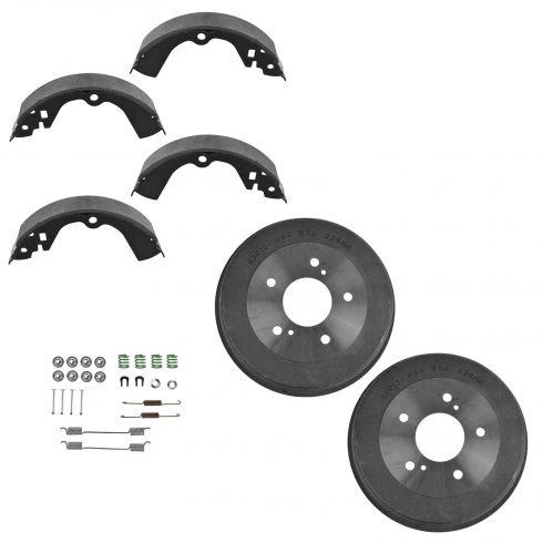 Rear Brake Shoe,  Drum, & hardware kit 89-94 Maxima
