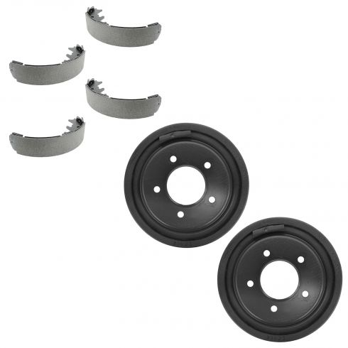 97-00 Ford F150; 01-04 F150 Heritage (exc Crew Cab) (5 Lug) Rear Brake Drum & Shoe Kit