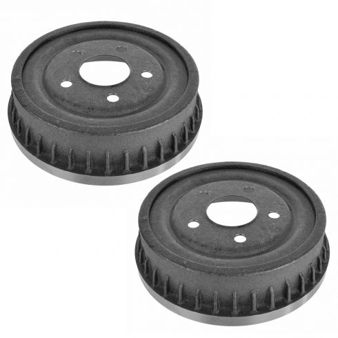86-00 Ford Taurus, Mercury Sable Sedan Rear Brake Drum Pair