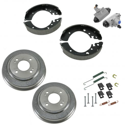 92-00 Honda Civic Rear Drum Shoe & Hardware Kit
