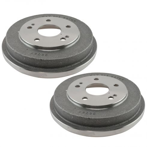 97-01 Honda CRV Rear Brake Drum Pair