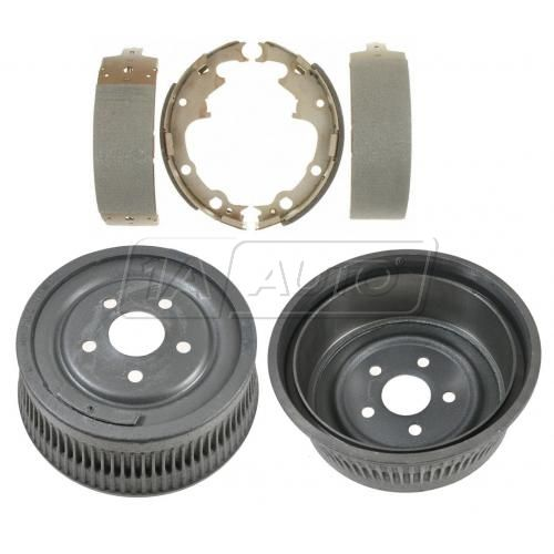 Brake Drum & Raybestos Shoe Set