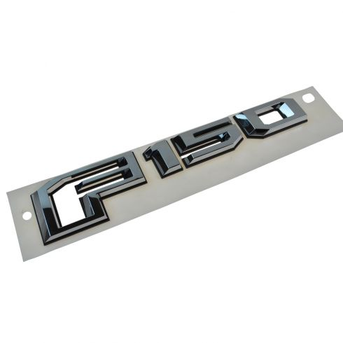 15-16 Ford F150 Tailgate Mounted Chrome ~F150~ Adhesive Nameplate Emblem (Ford)