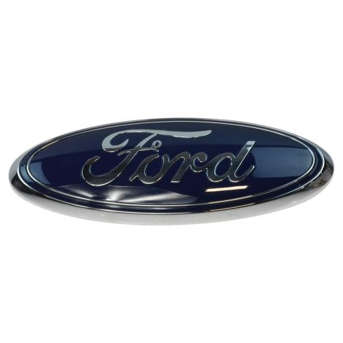10-15 Expdition; 11-15 Explrer; 09-14 F150; 10-11 Ranger Grille Mtd ~Ford Oval~ Nameplate Emb (Ford)
