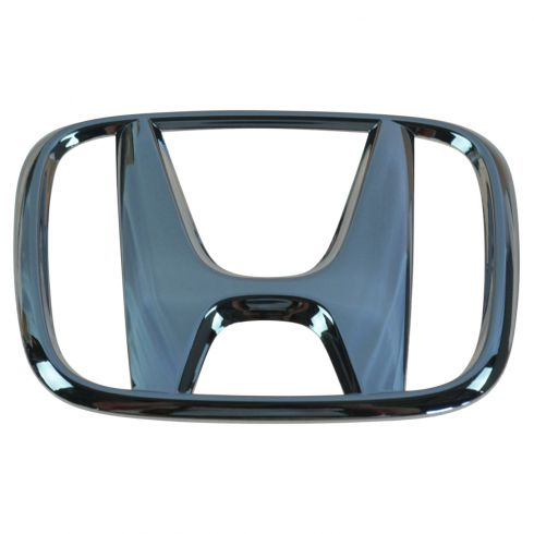 06-07 Honda Accord 2DR Coupe Grille Mounted Chrome ~H~ Logoed Clip on Style Nameplate Emblem (Honda)