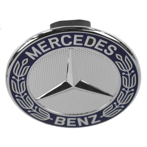 Mercedes benz emblem mercedes benz 204 817 06 16 for Mercedes benz bonnet badge