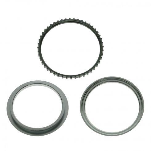 90-00 Toyota Multifit LF, RF; 99-00 RX300 LF, RF, LR, RR ABS Tone Ring (Set of 3)
