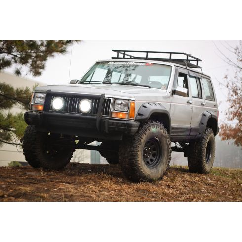 All Terrain Fender Flare Kit, 4-Door, 84-01 Jeep Cherokee (XJ)